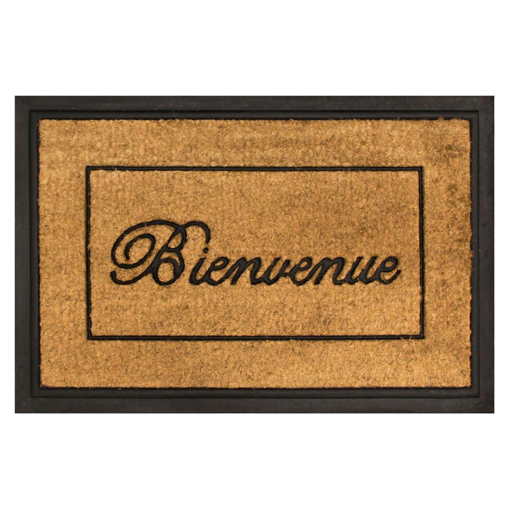 Home Decorators Collection 2 ft. x 3 ft Bienvenue Coir Door Mat