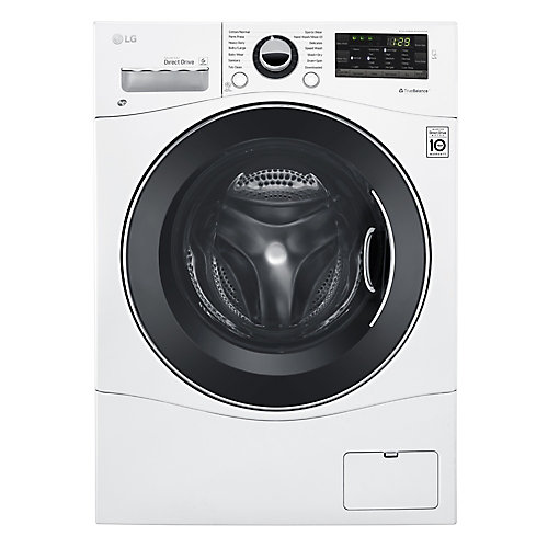 24-inch W 2.6 cu. ft. All-in-One Front Load Washer / Dryer Combo with 6Motion Technology