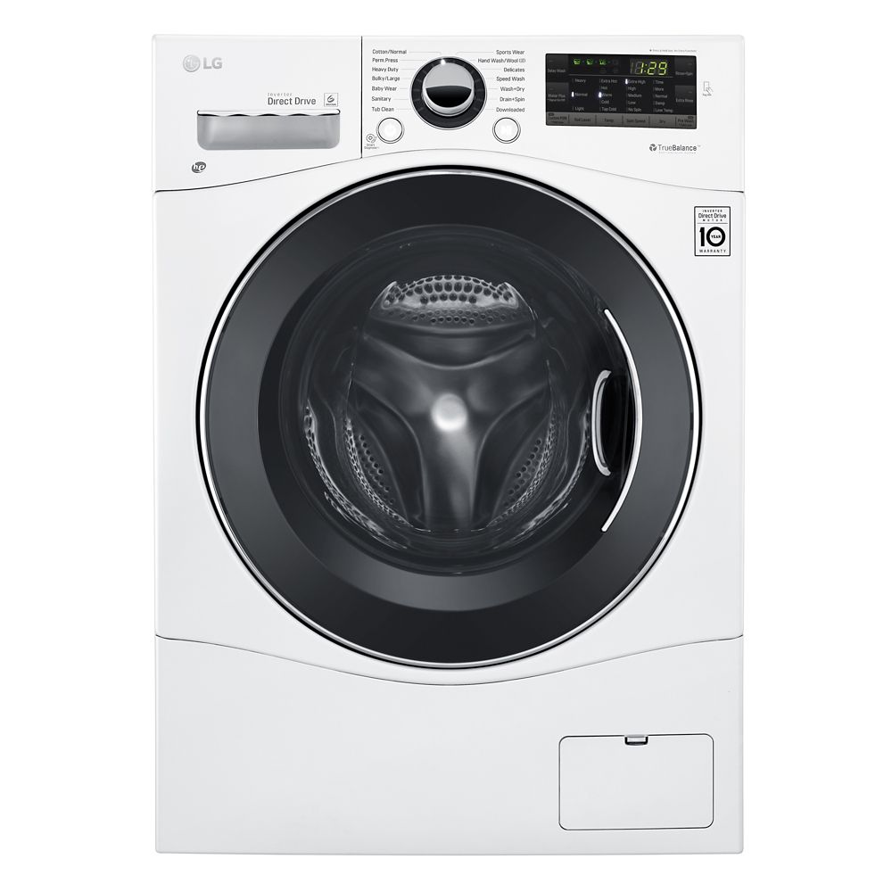 24 inch, 2.6 cu. Feet All-in-One Front Load Washer / Dryer Combo with 6Motion Technology