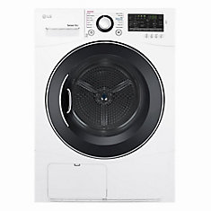 4.2 cu. ft. Capacity Compact Electric Front Load Dryer in White