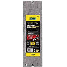 Mesh Abrasive Sheet Grit 150 (2pk)