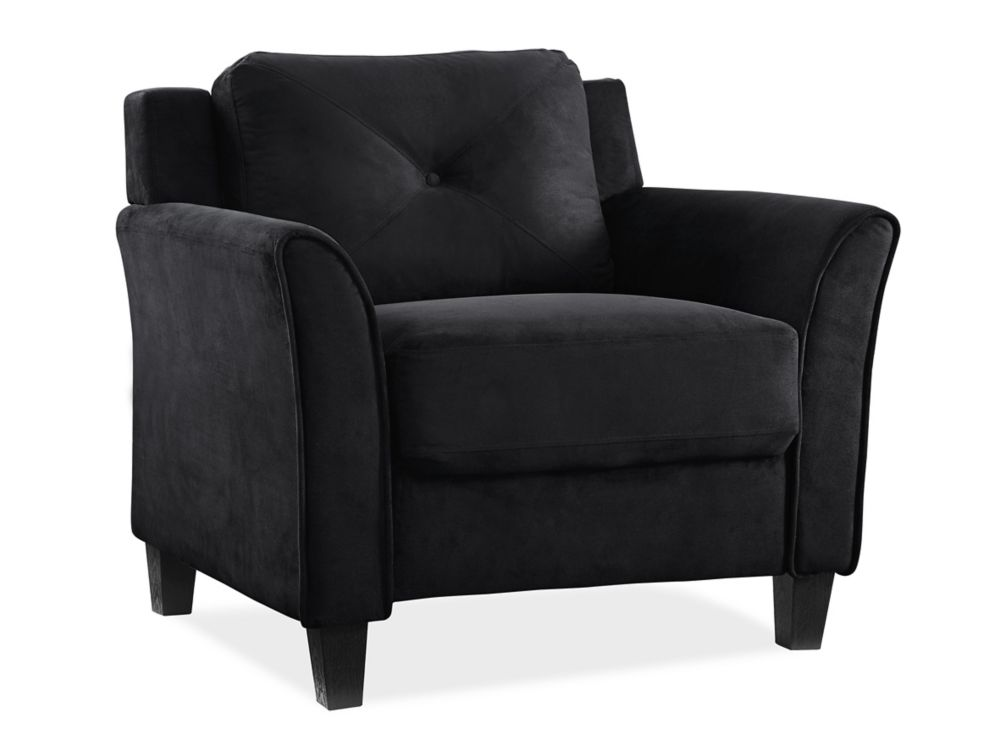 Montego chaise - noir