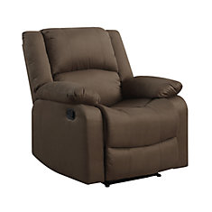 Aspen Microfiber Upholstered Recliner in Chocolate  sc 1 st  The Home Depot Canada & Shop Chairs u0026 Recliners at HomeDepot.ca | The Home Depot Canada islam-shia.org