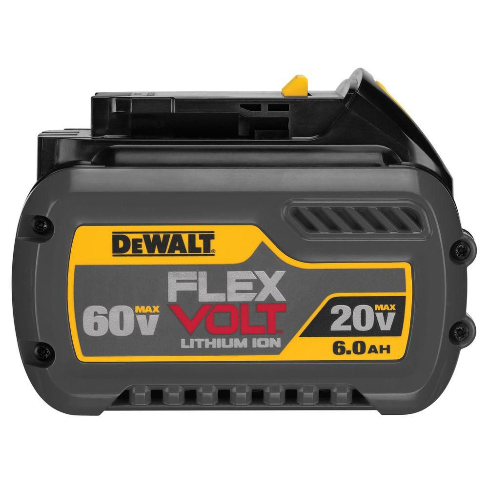 DCB606 20V/60V MAX  FLEXVOLT Lithium Ion 6.0 Ah Battery