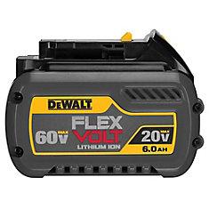 FLEXVOLT 20V/60V MAX Lithium-Ion 6.0 Ah Battery
