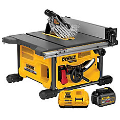 Flexvolt 60v Max Lithium Ion Cordless Brushless 8 1 4 Inch Table Saw