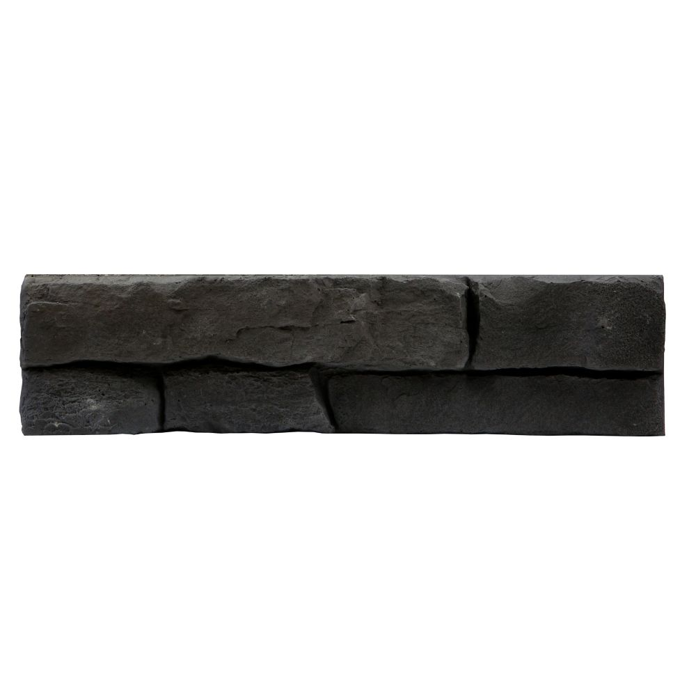 Fusion Stone Great Lakes Stone Veneer - Carbon (Small Pack 5-Square Feet)