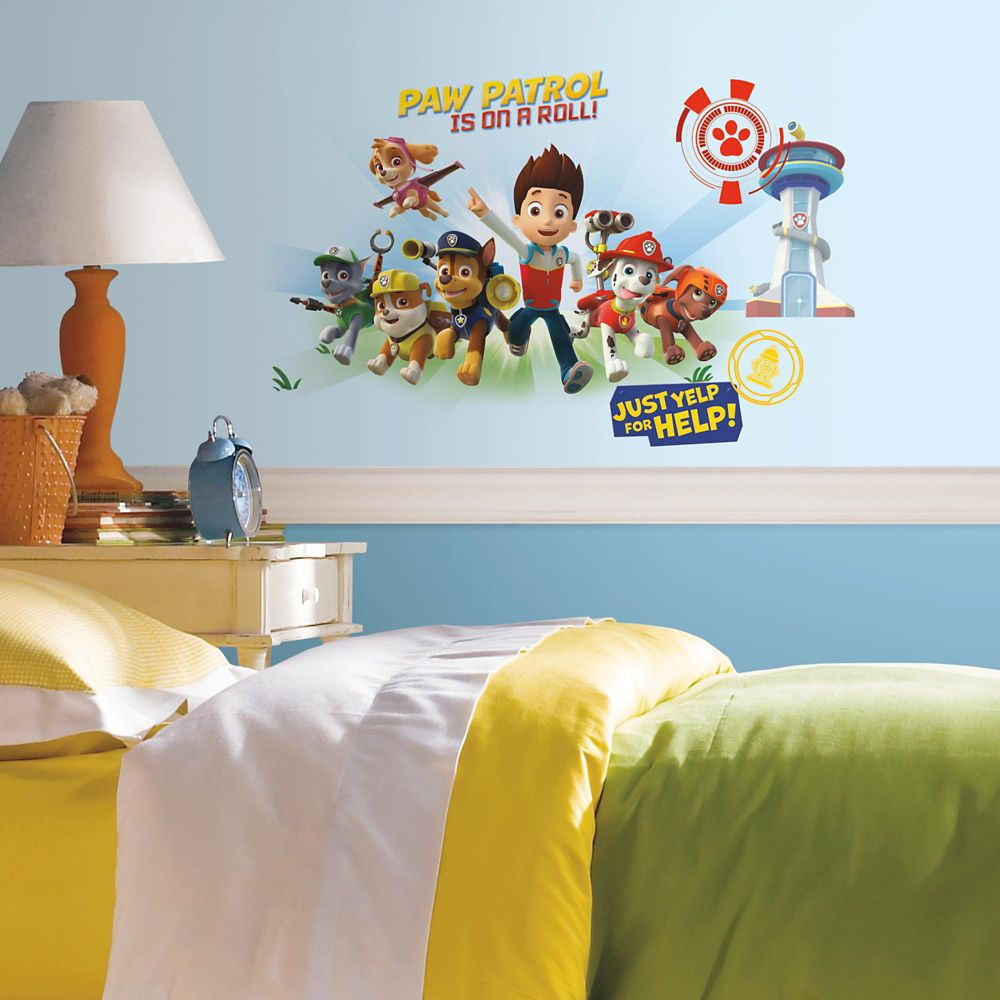 RoomMates Stickers Muraux PAW PATROL GIANT DECAL