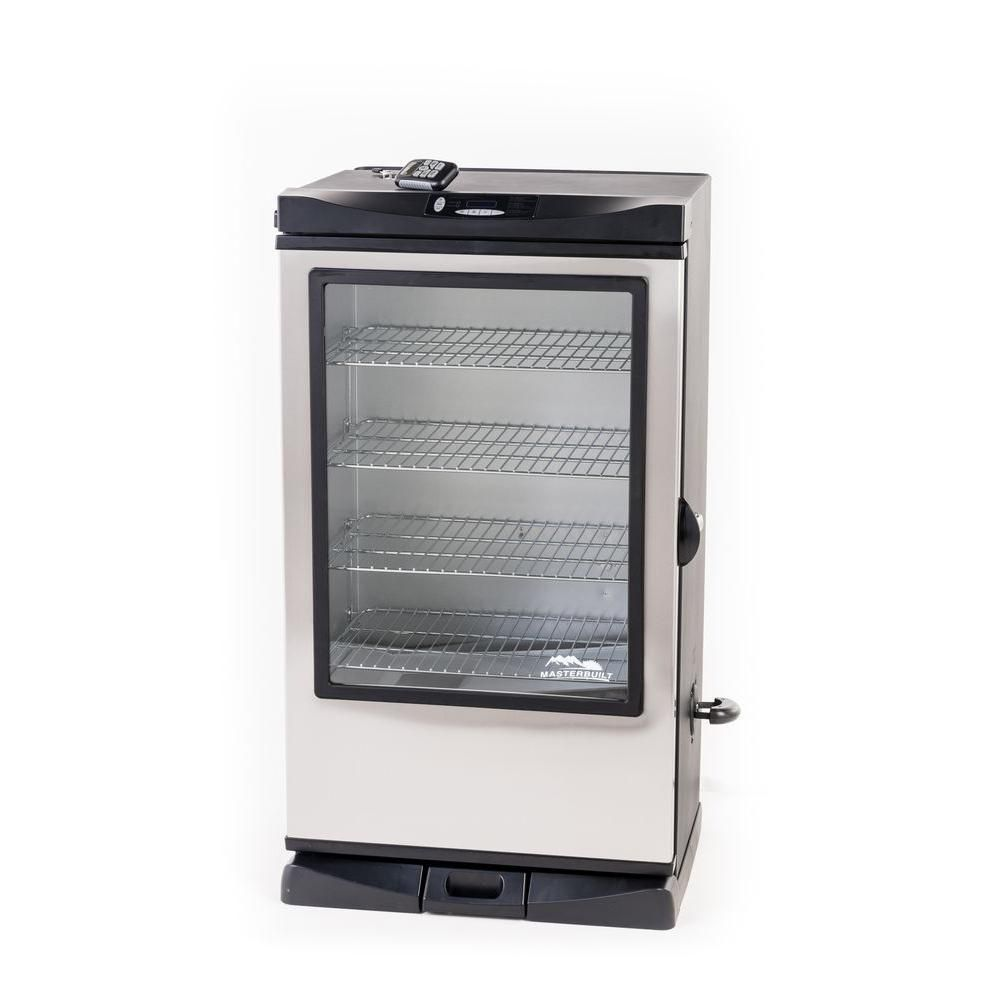 Fumoir électrique numérique avec porte vitrée Masterbuilt 101,6 cm 20075315