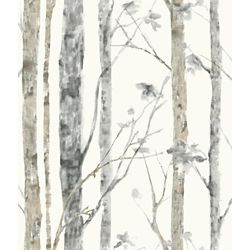 RoomMates Birch Trees Peel and Stick Wall Paper