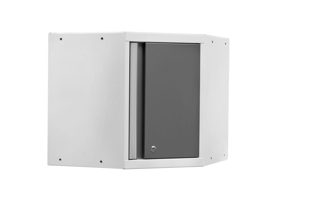NewAge Pro 3.0 Series Corner Cabinet White
