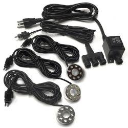 Angelo Décor 3 - lumière d'appoint 8-DEL avec cordon de 3,2 m, connecteur et  transformateur à 1,8 mètre cordon.