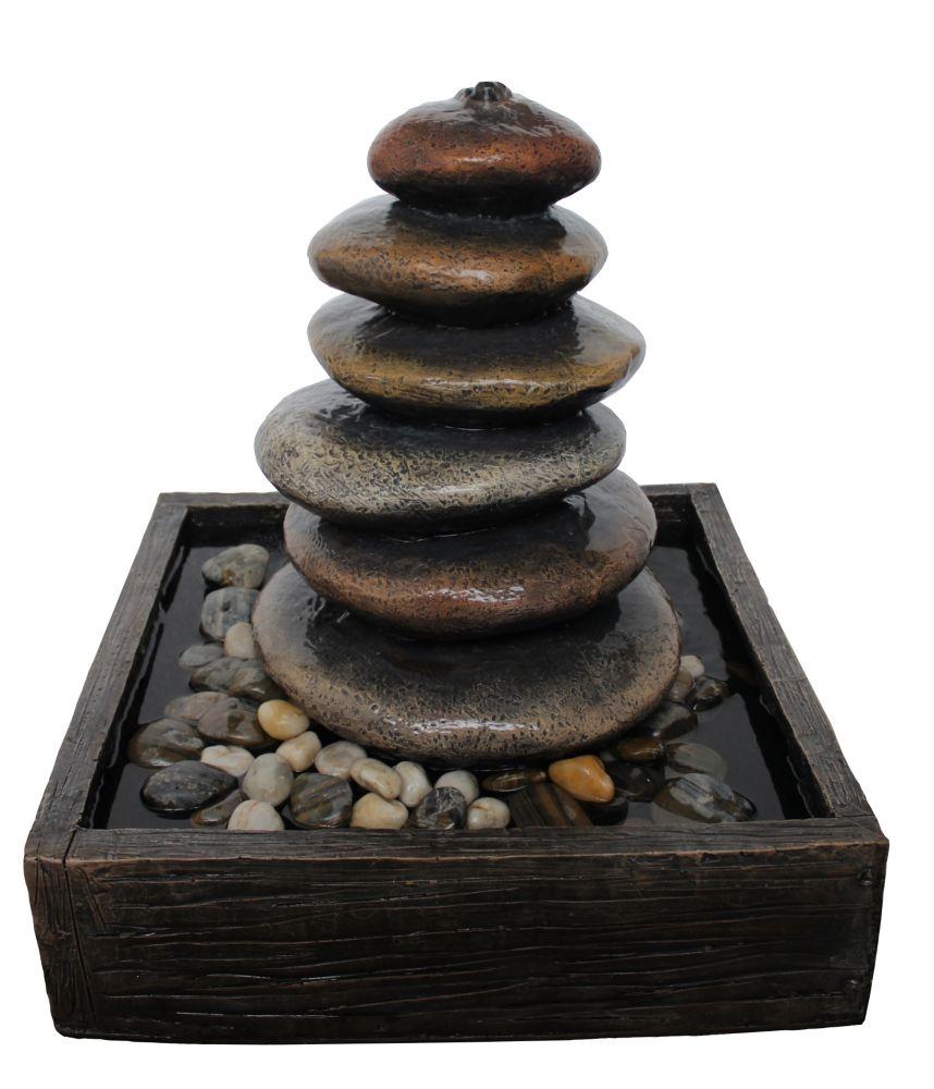 Balanced Stones Fountain