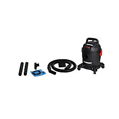 4Gal Portable Poly Wet/Dry Vacuum