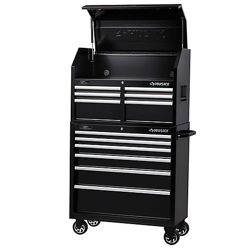 36 inch 12-Drawer Tool Chest and Cabinet Set