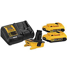 18V to 20V Max Lithium-ion Battery Adapter Kit (2-Pack)