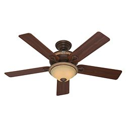 Hunter Aventine 52-inch Ceiling Fan in Gold