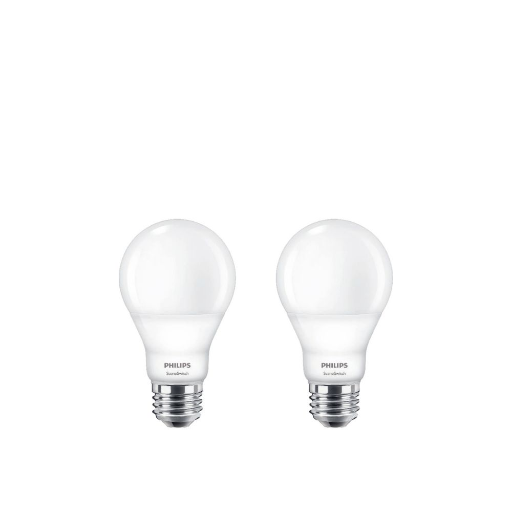 Led Shop Lights Home Depot Canada: Philips LED 60W A19 SceneSwitch Colour (2200K, 2700K