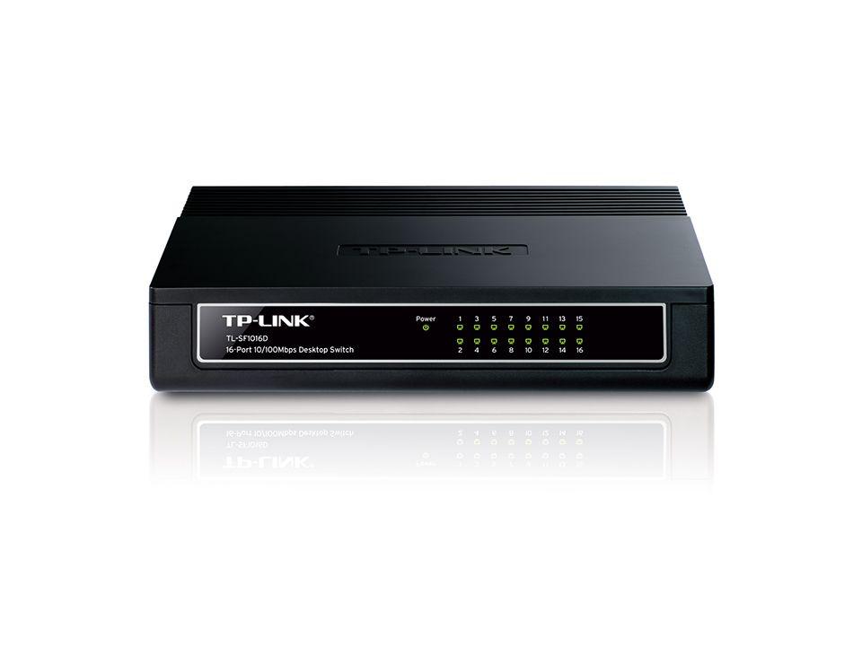 16-Port 10/100M Desktop Switch - TL-SF1016D