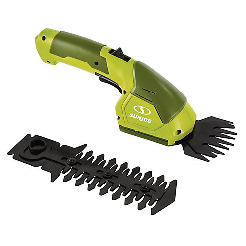 Hedger Joe 7.2V Electric Cordless 2-In-1 Grass Shear + Hedge Trimmer