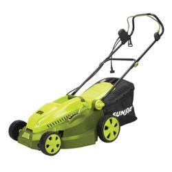 Sun Joe Mow Joe 16 Inch 12 Amp Electric Lawn Mower Mulcher