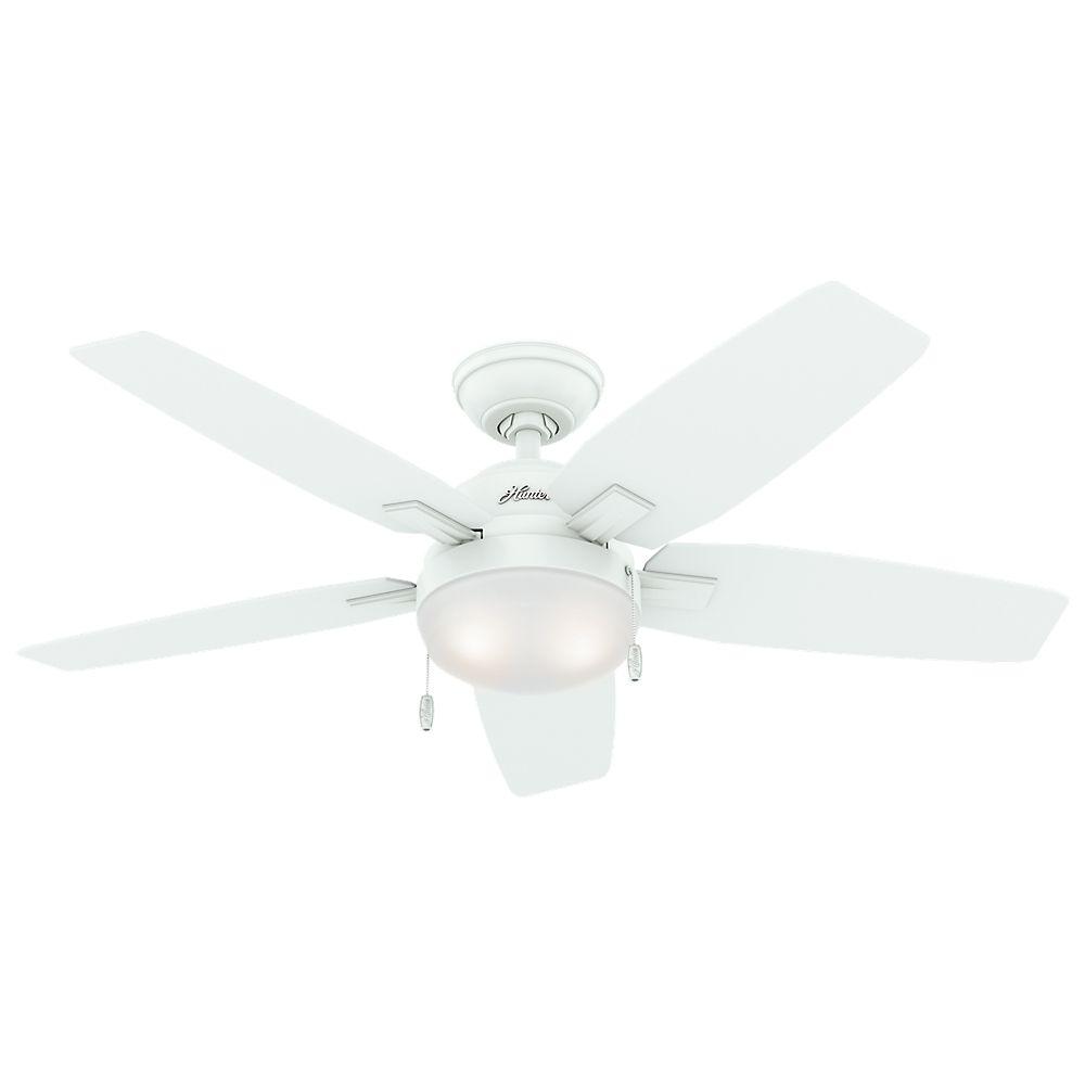Ventilateur de plafond Antero 46 po. blanc frais