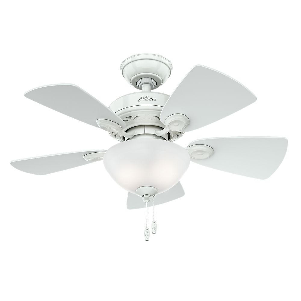Ventilateur de plafond Watson 34 po. blanc