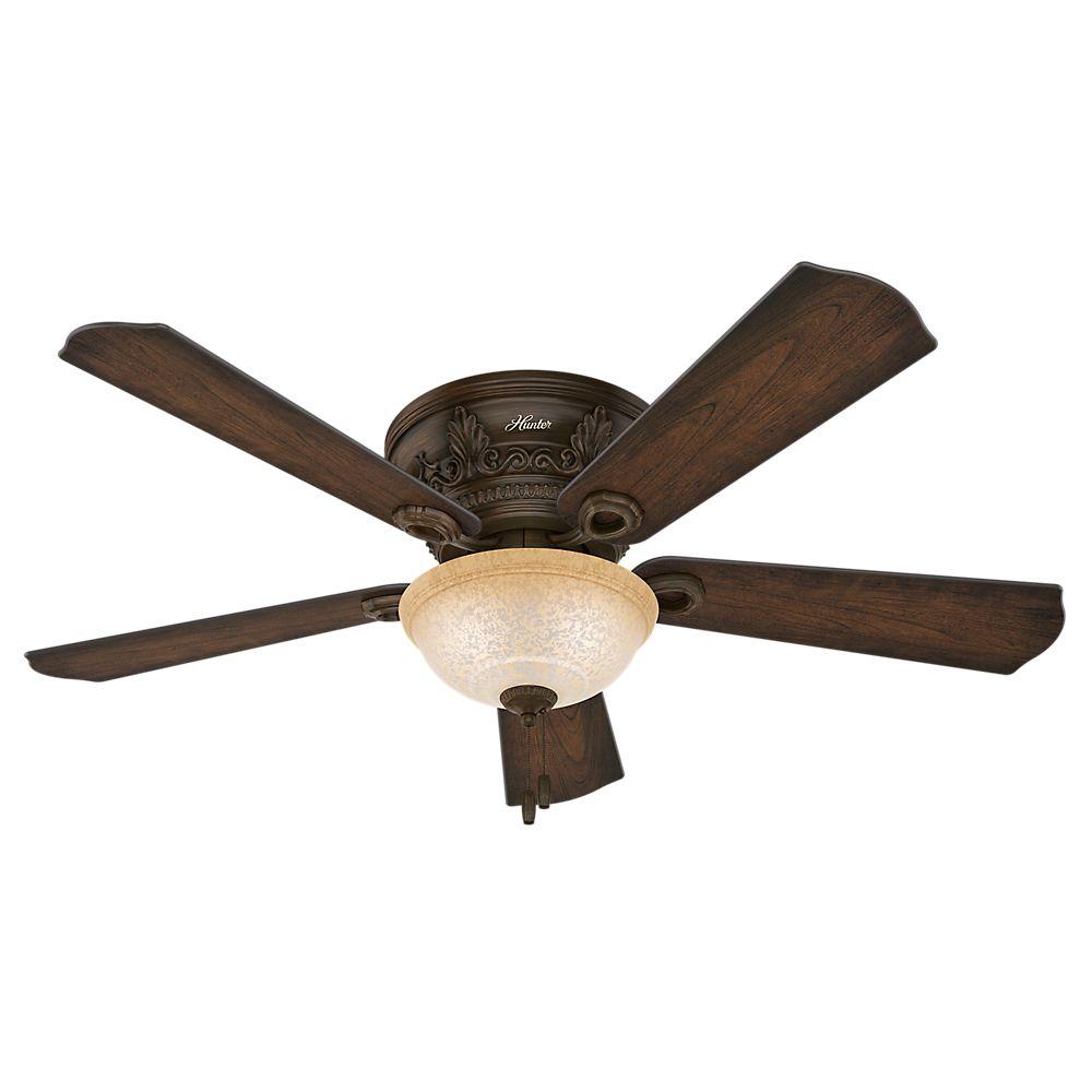 Hunter Bergeron Northern Sienna 52 Inch  Indoor Ceiling Fan