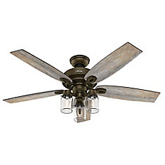 Lights ceiling fans modern rustic more the home depot canada crown canyon 52 inch indoor regal bronze ceiling fan aloadofball Images