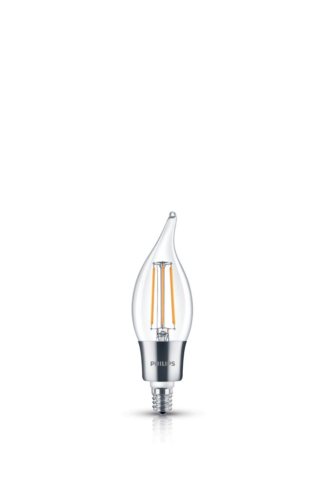 Philips LED 40W Chan BA11 Filament Clear (2200K)