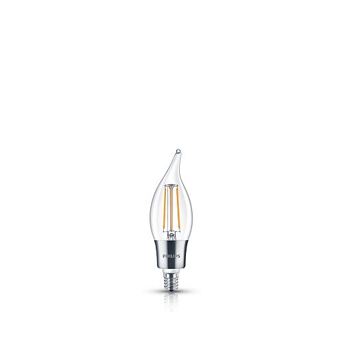 Philips LED 40W Chan BA11 Filament Clear (2200K)