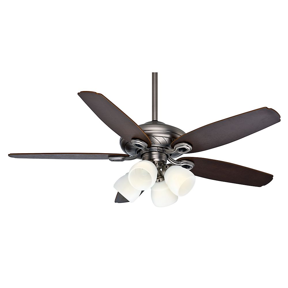 Casablanca Capistrano Gallery 52 Inch  Antique Pewter Indooor Ceiling Fan with 4 speed wall mount...