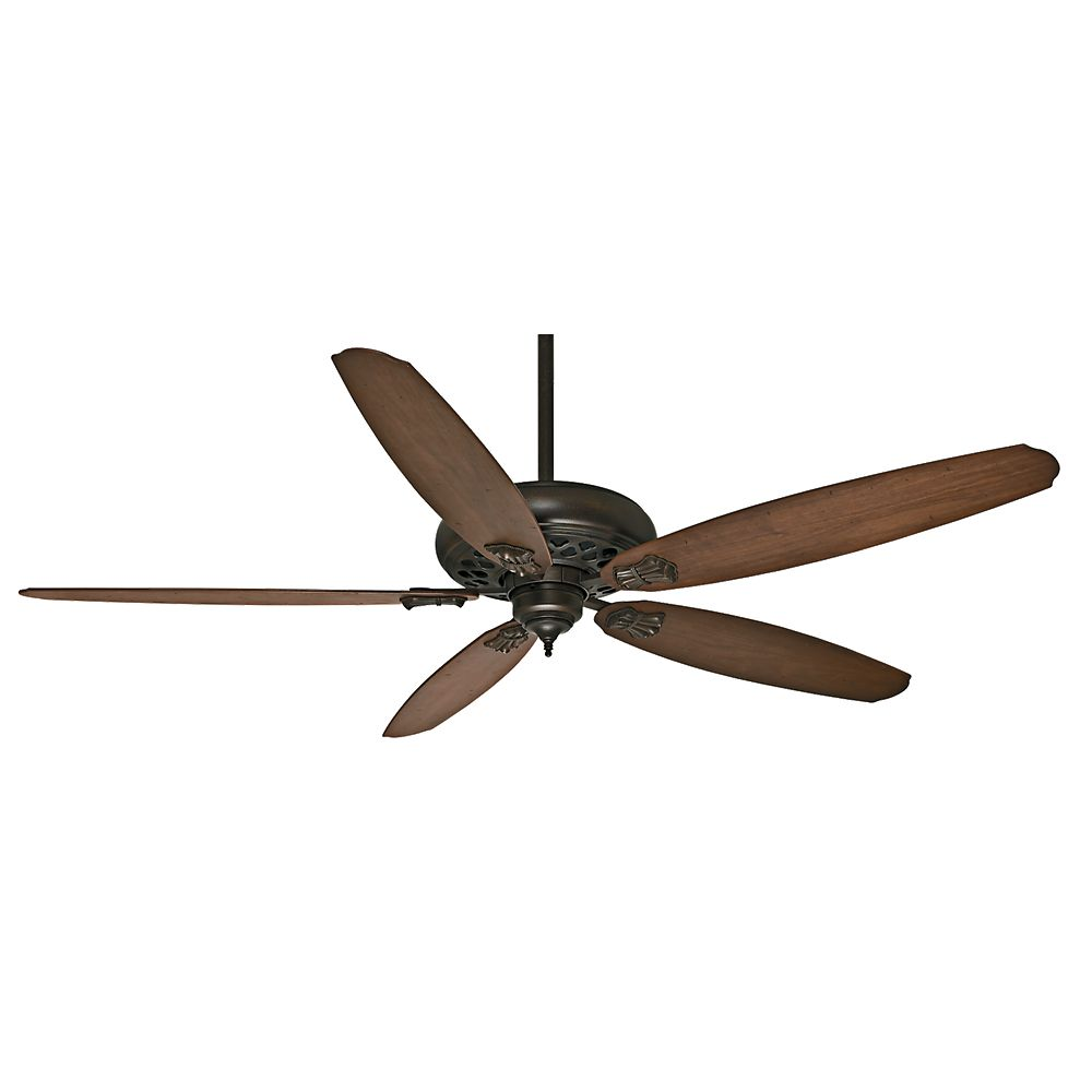 Casablanca Fellini DC 66 Inch  Provence Crackle Indoor Ceiling Fan with 6 speed remote control