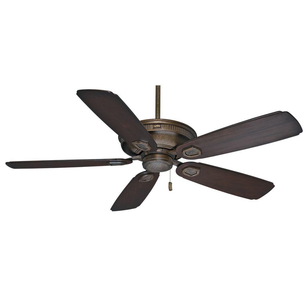 Casablanca Heritage 60 Inch Aged Bronze Outdoor/Indoor Ceiling Fan