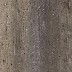 Latte pour plancher, vinyle de luxe, largeurs multiples x 47,6 po, Pin Harrison foncé, 19,53 pi2/boîte