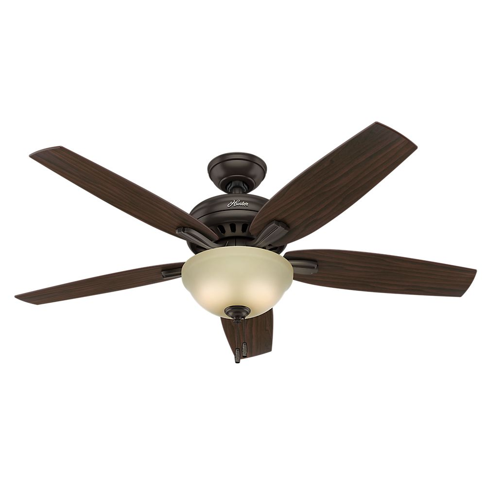 Hunter Newsome 52 Inch  Premier Bronze Ceiling Fan