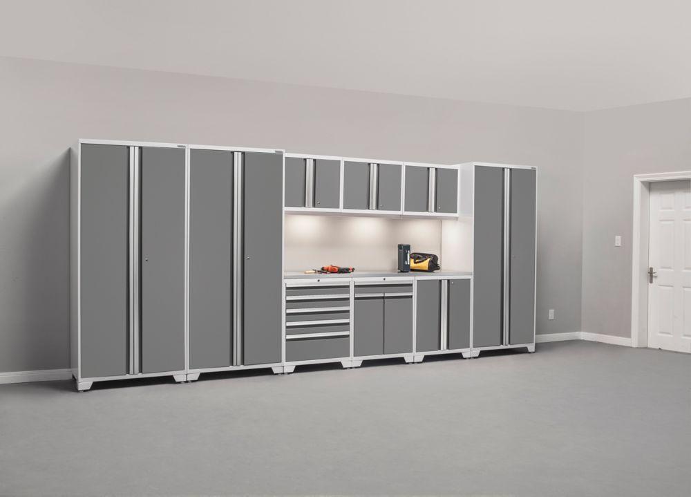NewAge Pro 10 Pc Set (LWT,LWM,LWB, 84 Inch  SS Top) White