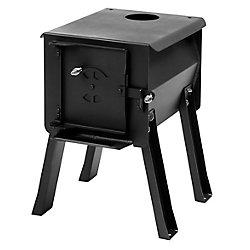 Survivor Lifestyle Products CUB - Portable Camp / Cook Wood Stove, 1.0 Cu. Ft.