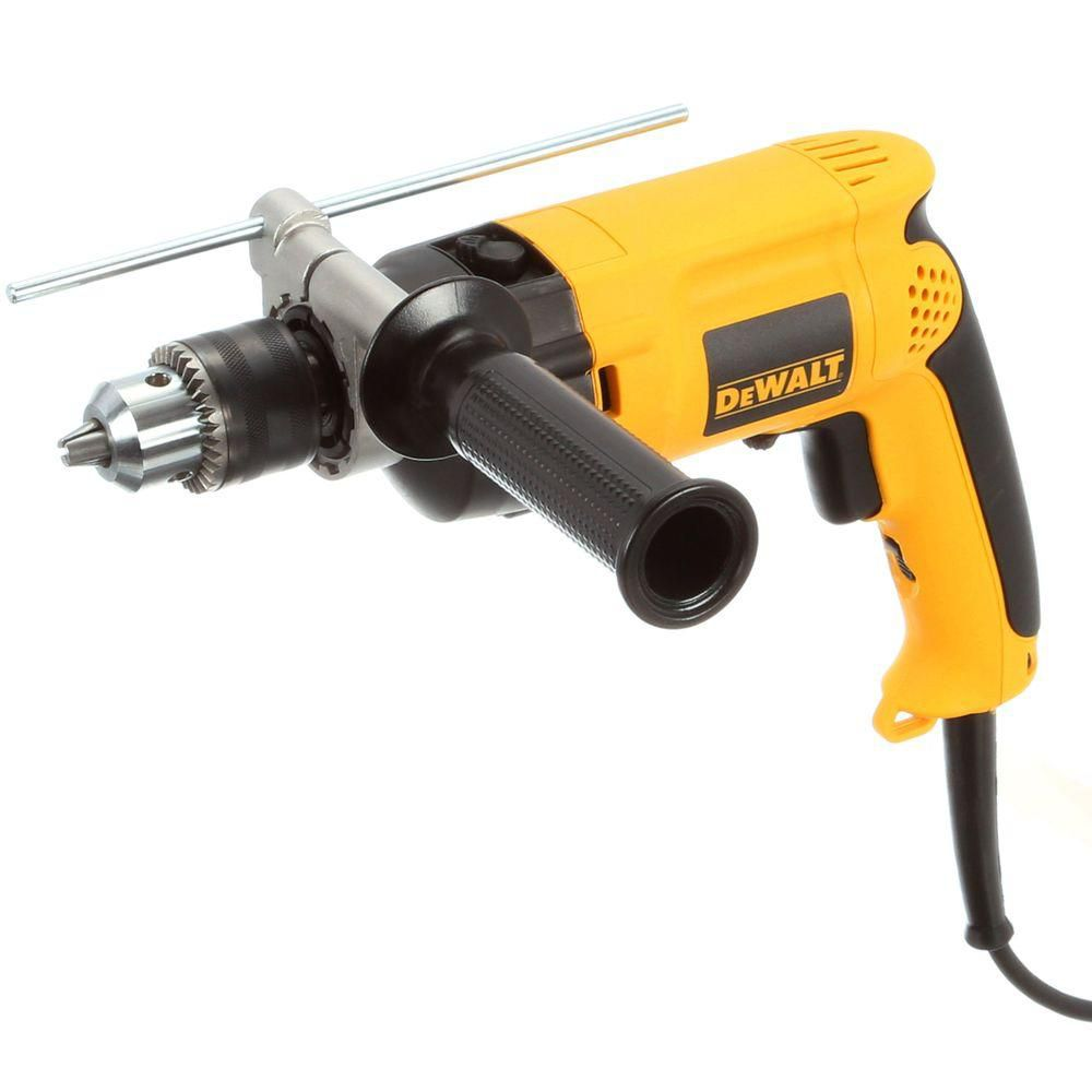 DEWALT DW511 1/2-In (13mm) VSR Single Speed Hammer Drill