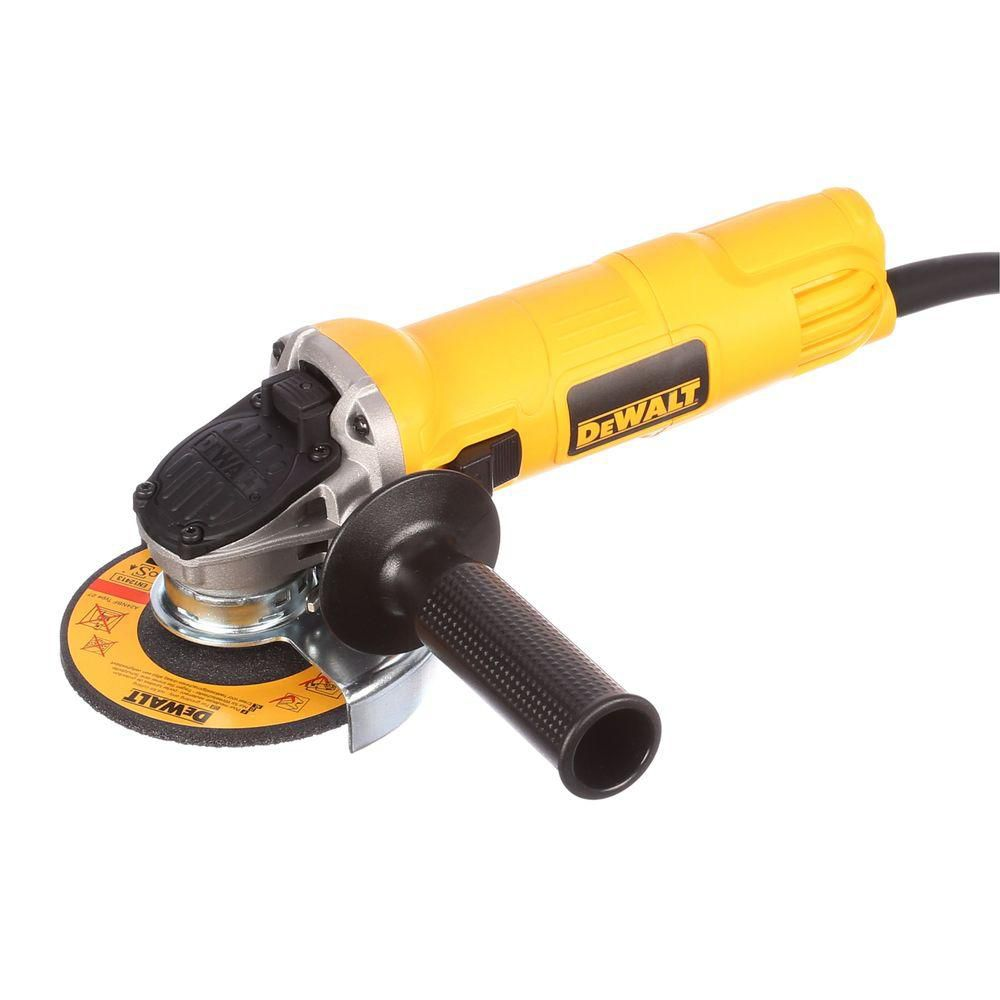 DWE4011 4-1/2-In Small Angle Grinder With One-Touch Guard
