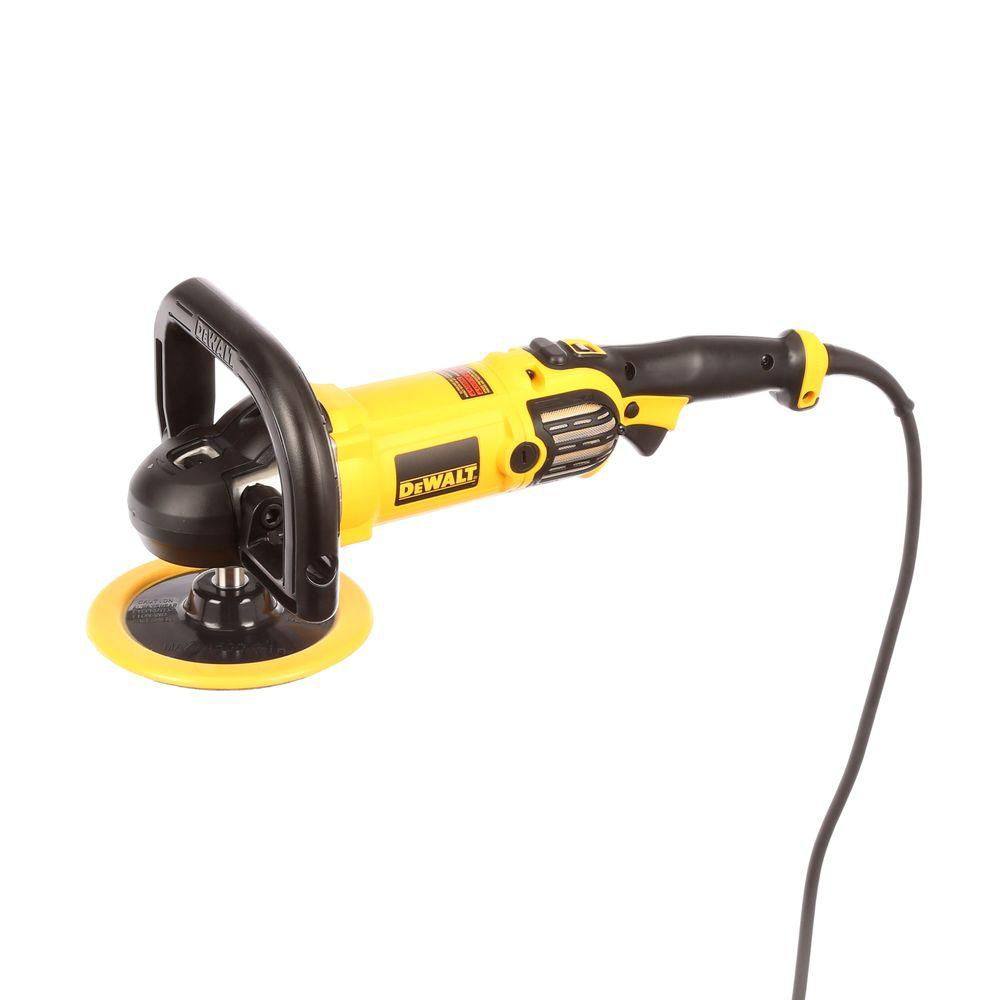 DEWALT DWP849X 7-In / 9-In Variable Speed Polisher With Soft Start
