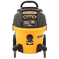 DEWALT DWV012 Extracteur de poussière HEPA 10 gallons humide et sec avec nettoyage automatique du filtre