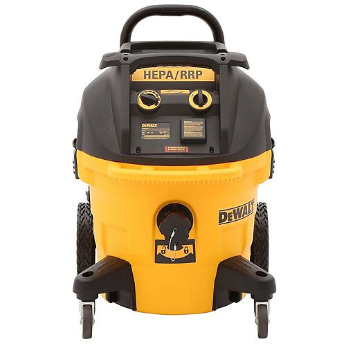 DEWALT DWV012 10 Gallon Wet/Dry HEPA Dust Extractor With Automatic Filter Cleaning