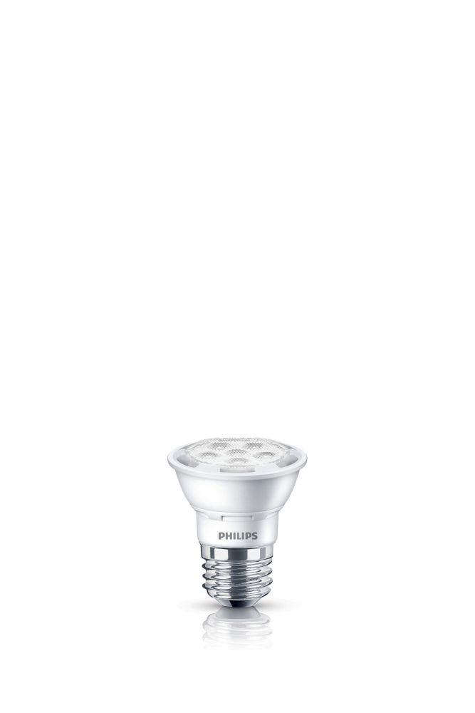 PAR16 DEL faisceau large dintérieur 50 W. Lumière du jour -(5 000 K), Gradable