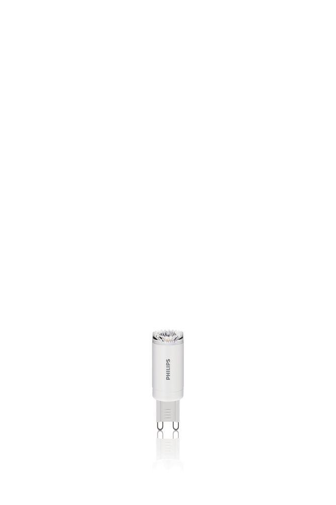 DEL 25 W G9 capsule, Lumière blanc brillant (3 000 K), Non-gradable