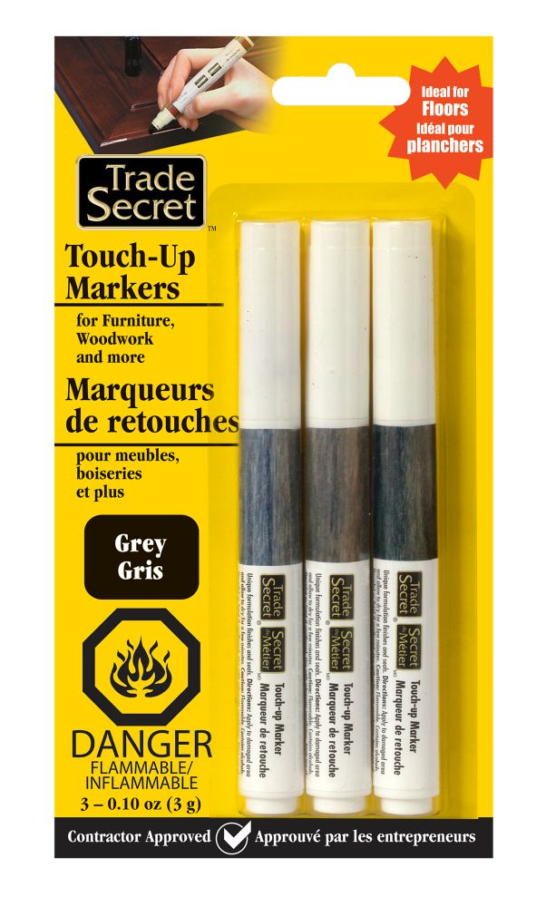 Trade Secret Trio Touch-Up Markers - Grey Tones