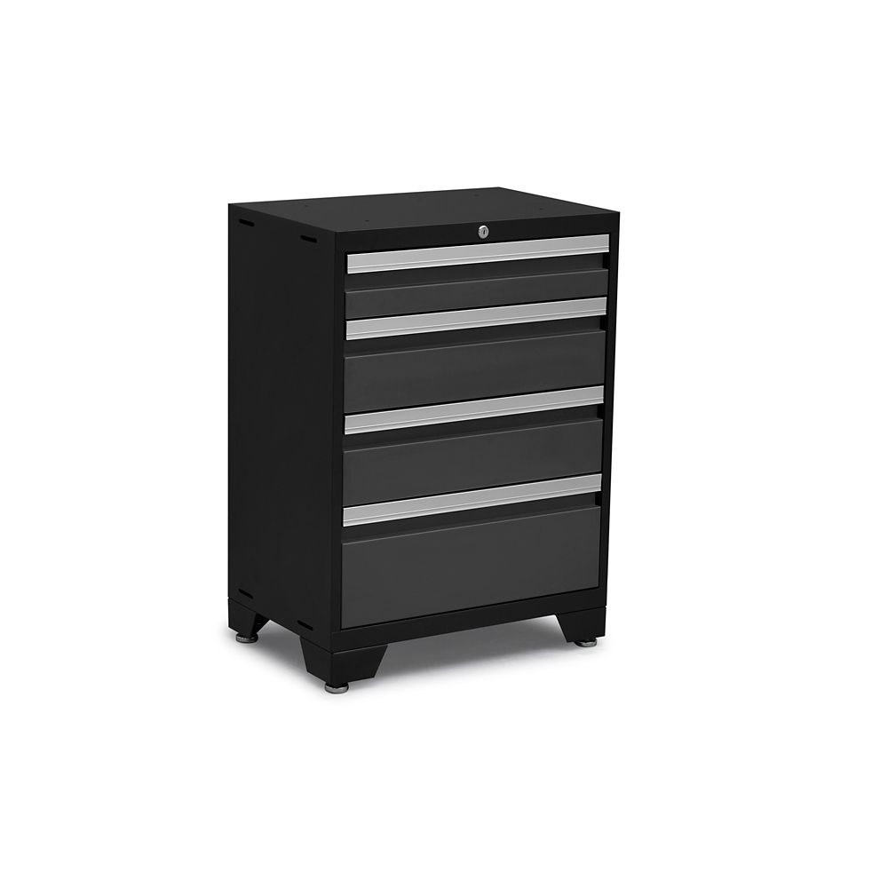 42 Inch 14 Drawer Tool Chest And Cabinet Set In Black