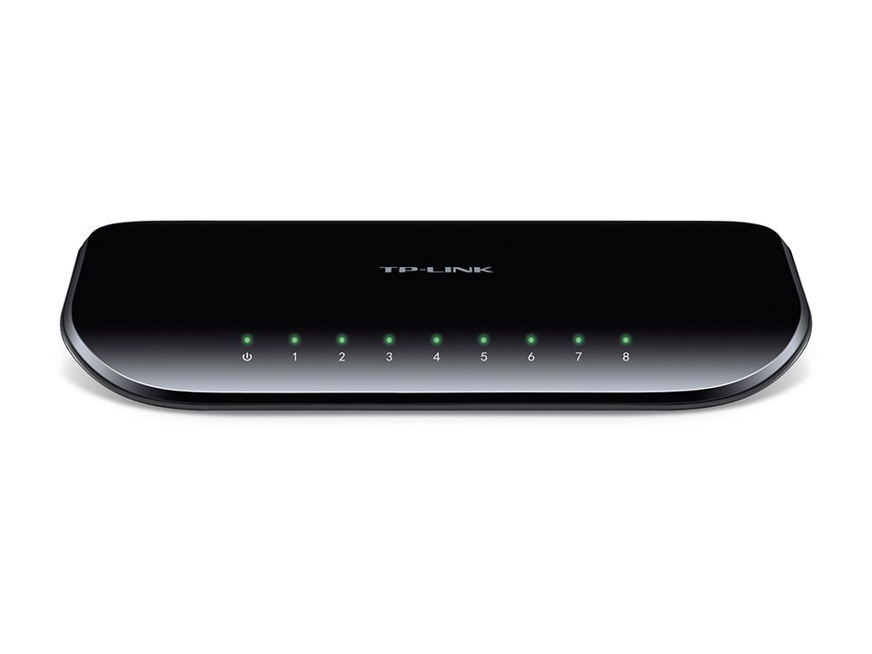 8-port Desktop Gigabit Green Switch - TL-SG1008D