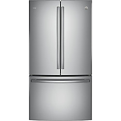 """36"""""""" 23.1 cu. ft. French Door Refrigerator in Stainless Steel - ENERGY STAR®"""