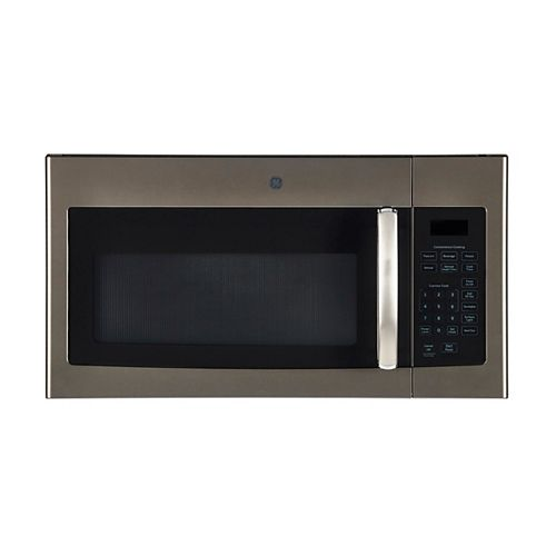 GE 30-inch W 1.6 Cu. Ft. Over the Range Microwave in Slate